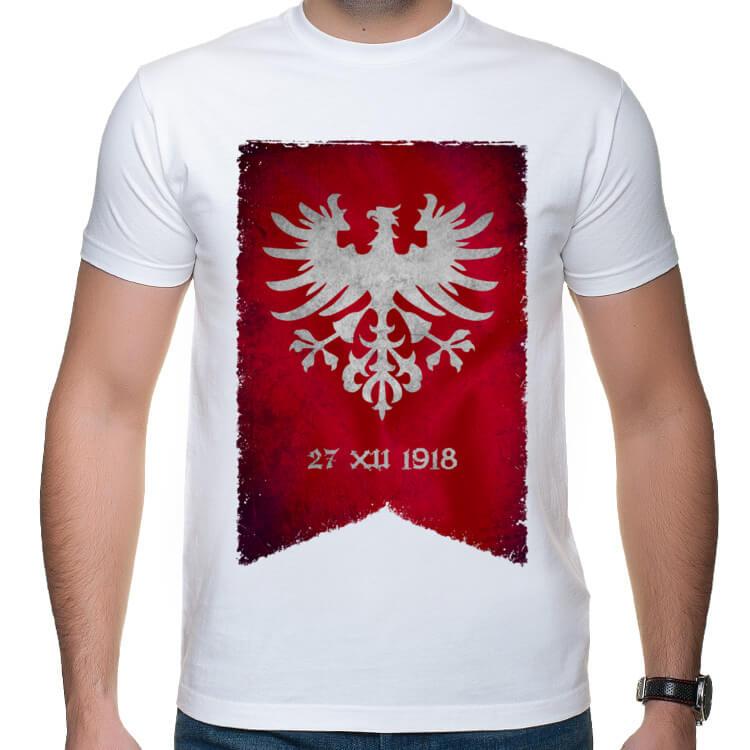 b4baf3ca7 Koszulka Powstanie Wielkopolskie | Shirtz.pl - Fajne koszulki