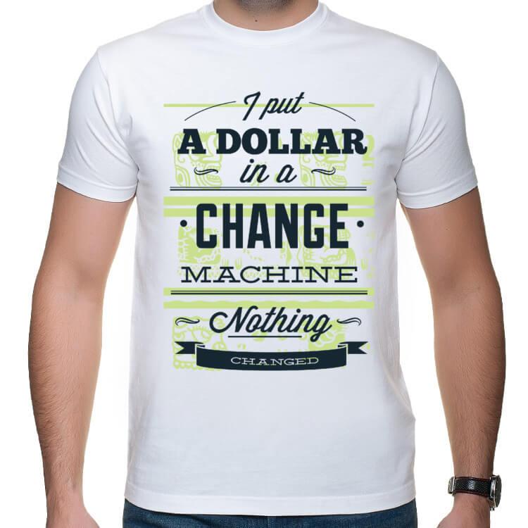Koszulka męska Change machine