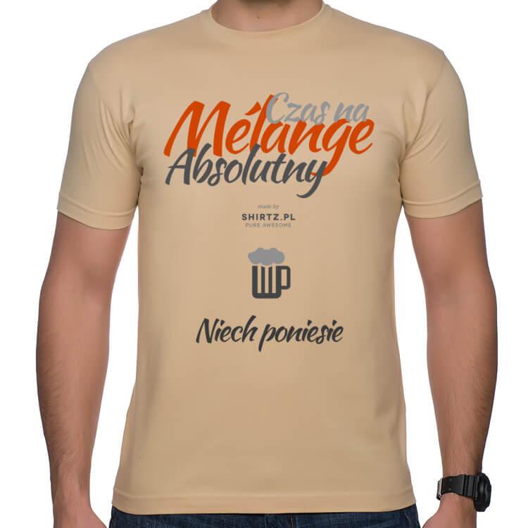 Koszulka męska Czas na melanż absolutny