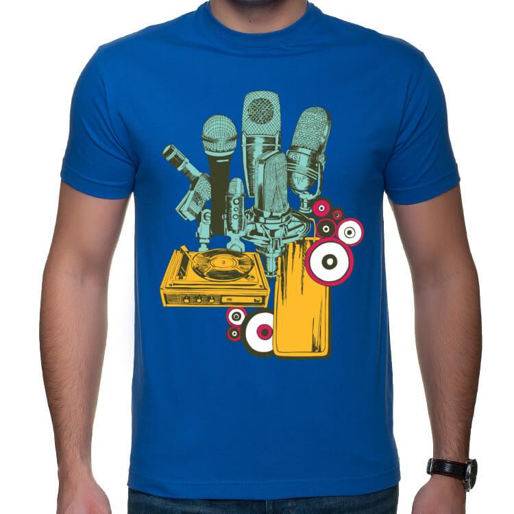Koszulka dla DJ'a