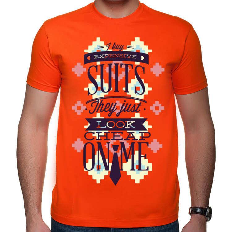 Koszulka męska Expensive suits