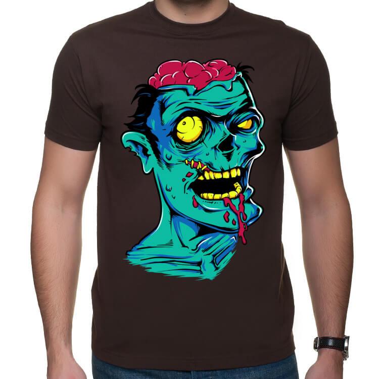 Koszulka męska Zielony Zombie