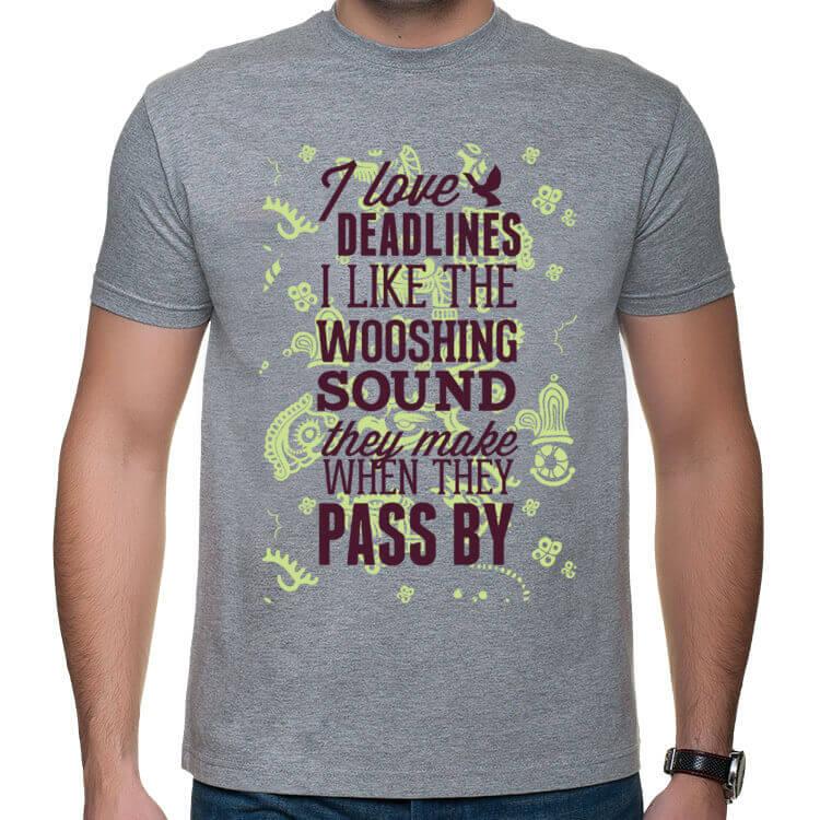 Koszulka Kocham deadline