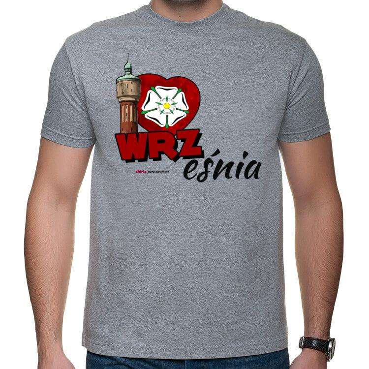 Koszulka męska I love Września