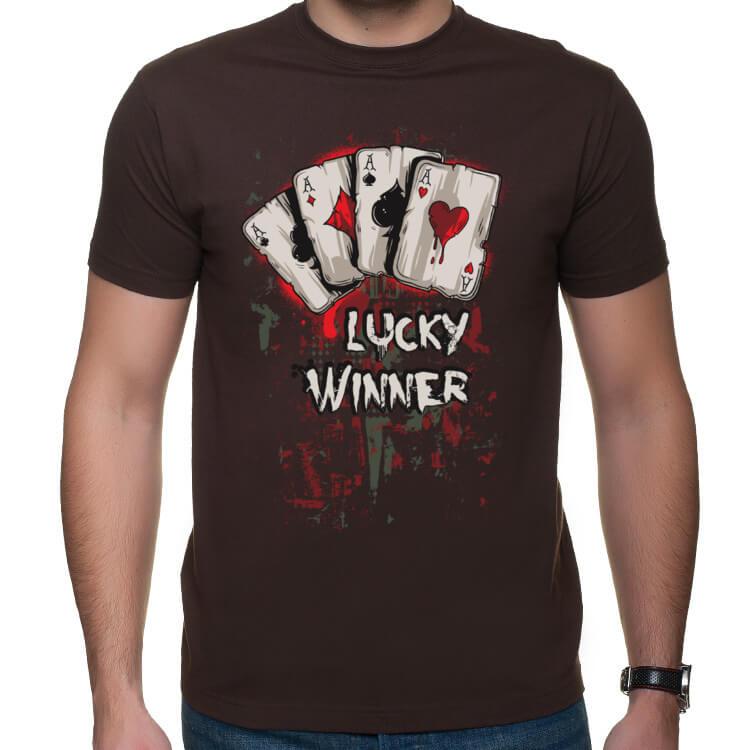 Męska koszulka na pokera