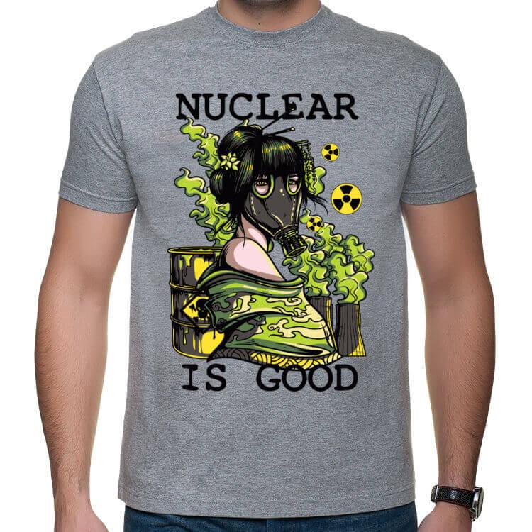 Koszulka męska Energia jądrowa - samo dobro