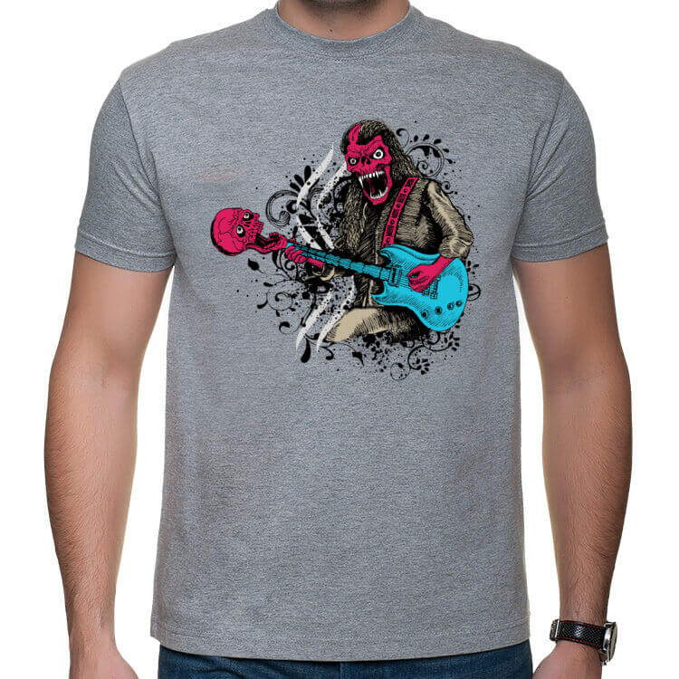 Koszulka Muzyczny szkieletor