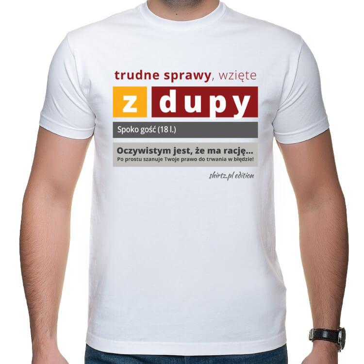 Koszulka Sprawy z dupy