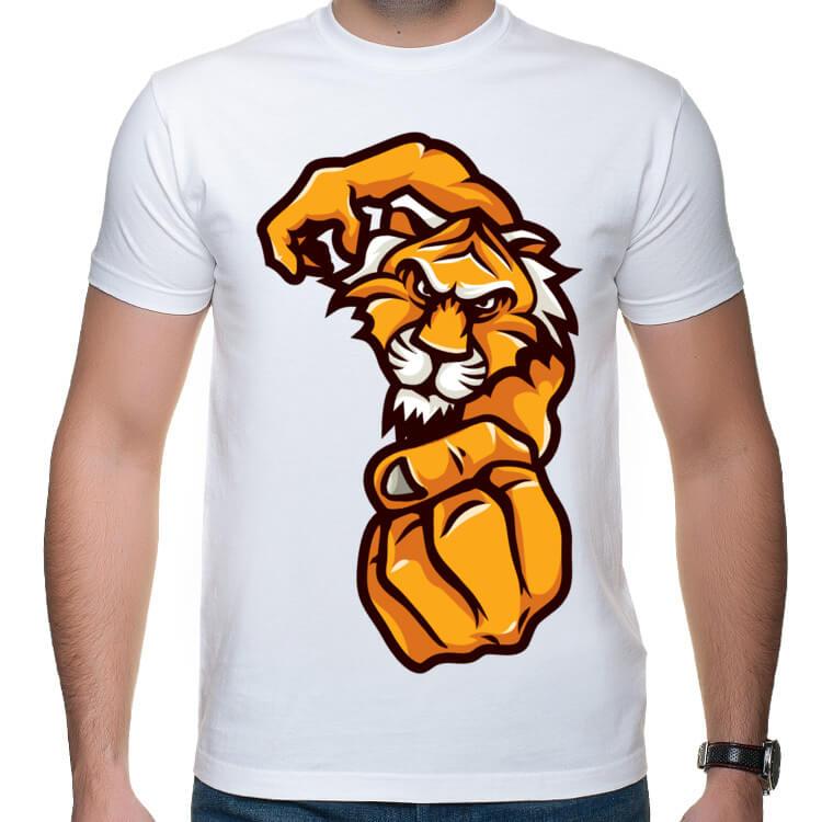 Koszulka męska Tygrys