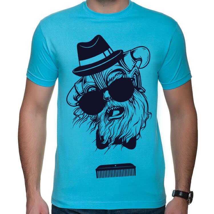 Koszulka męska Hipsterski sierściuch