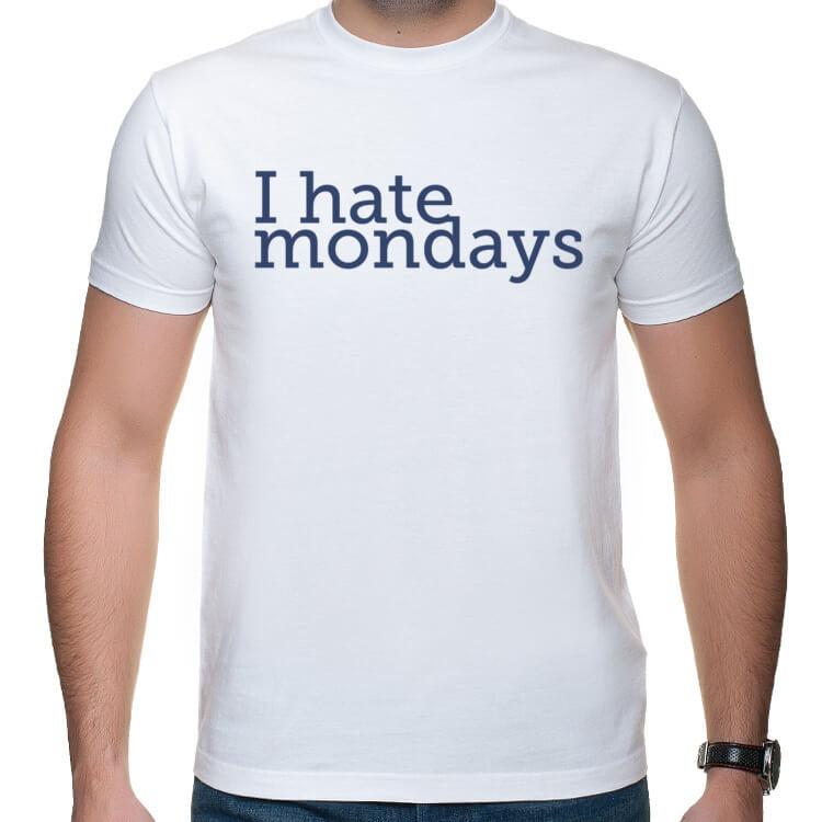 Koszulka Nienawidzę poniedziałków