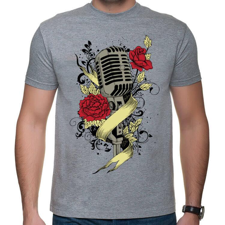 Koszulka męska Muzyka to moja miłość