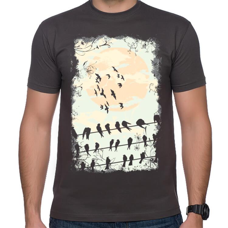 Koszulka Ptasie melodie