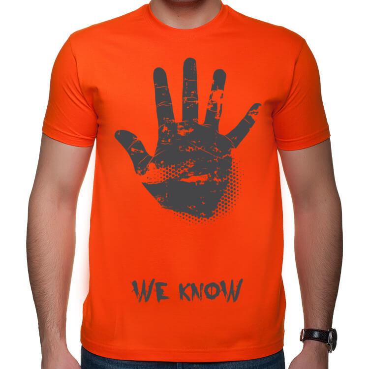 Koszulka My wiemy!
