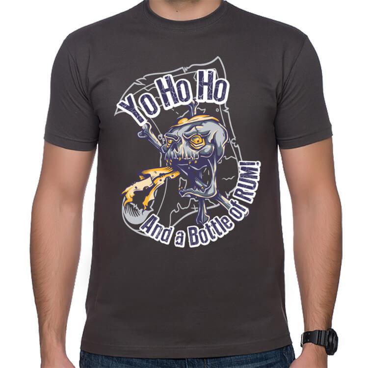 Koszulka Yo Ho Ho ...i butelka rumu!