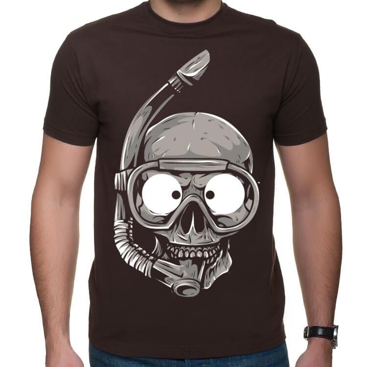 Koszulka Czaszkonurek