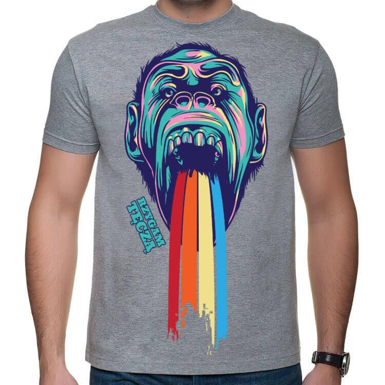 Koszulka Rzygam Tęczą