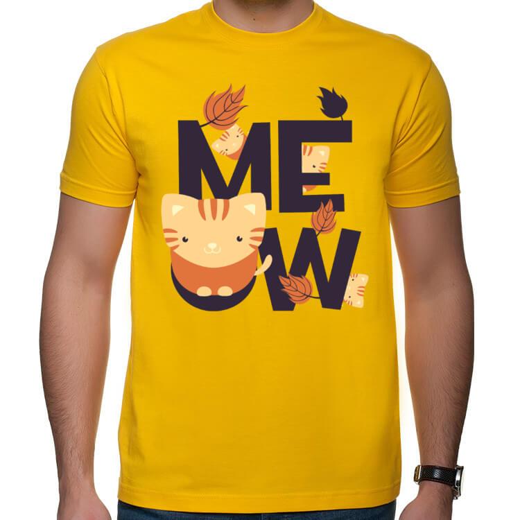 Koszulka męska MEOW