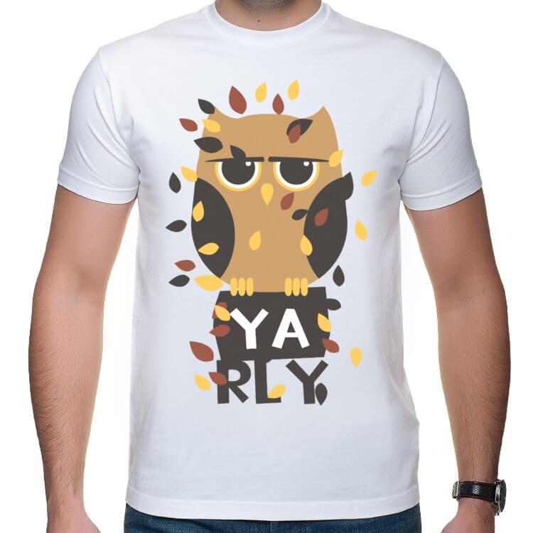 Koszulka męska Ya rly.