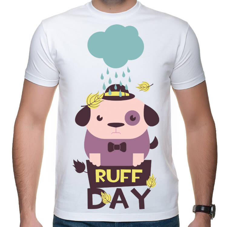 Koszulka męska Ruff day