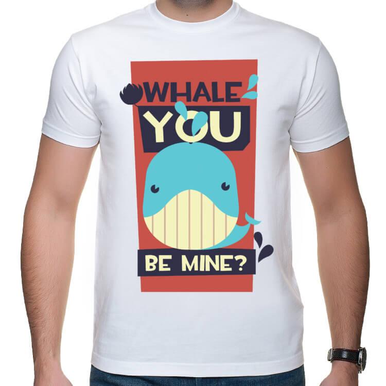 Koszulka Whale You be mine?