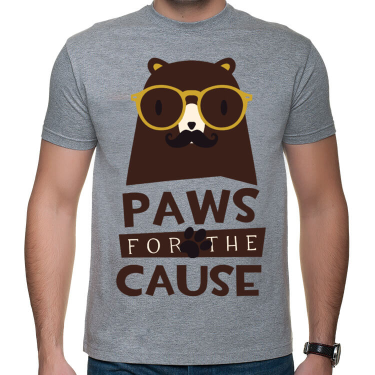 Koszulka Paws for the cause