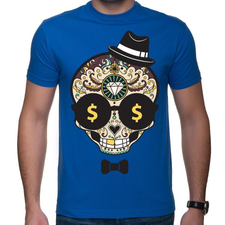 Koszulka Sugar Skull - Money Maker