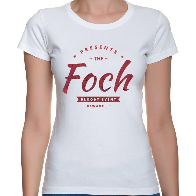 Koszulka damska FOCH