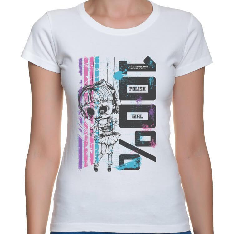 Koszulka 100% Polskiej Dziewczyny