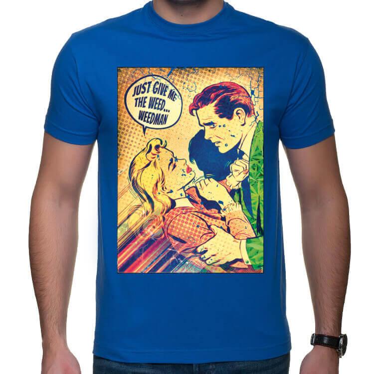 Koszulka Daj mi zioło człowieku