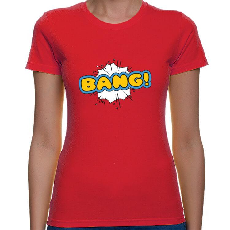 Koszulka BANG! damska