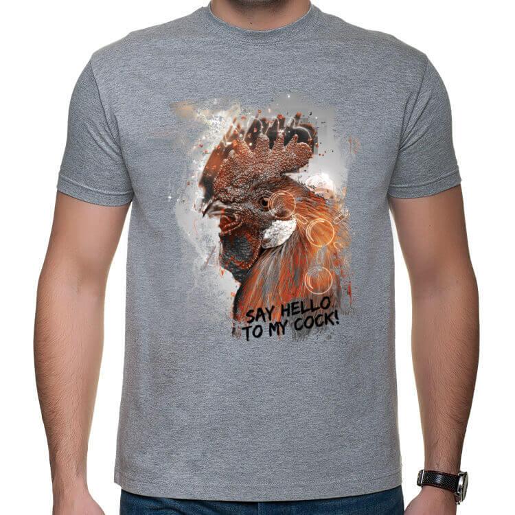 Koszulka Powiedz cześć do mojego ptaka