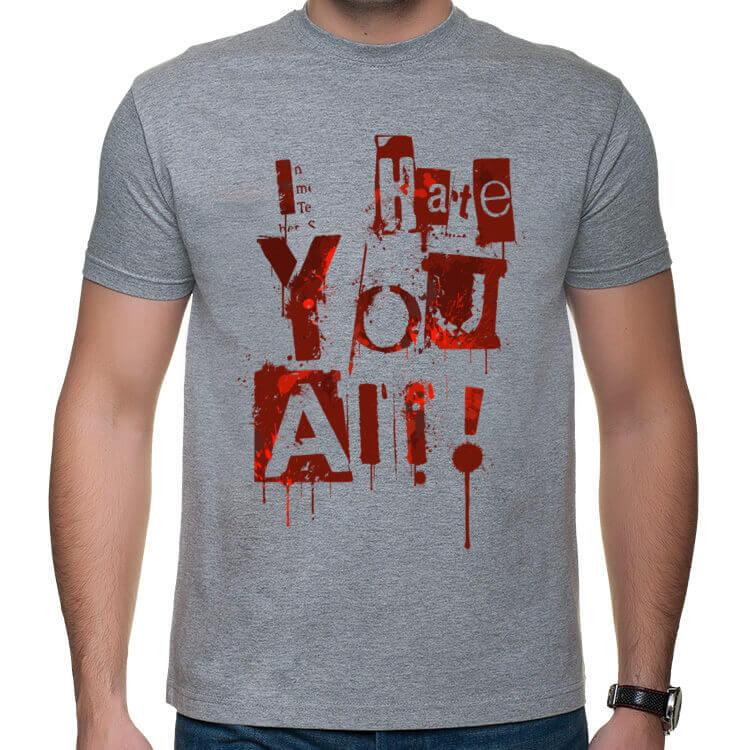 Koszulka Nienawidzę Was wszystkich