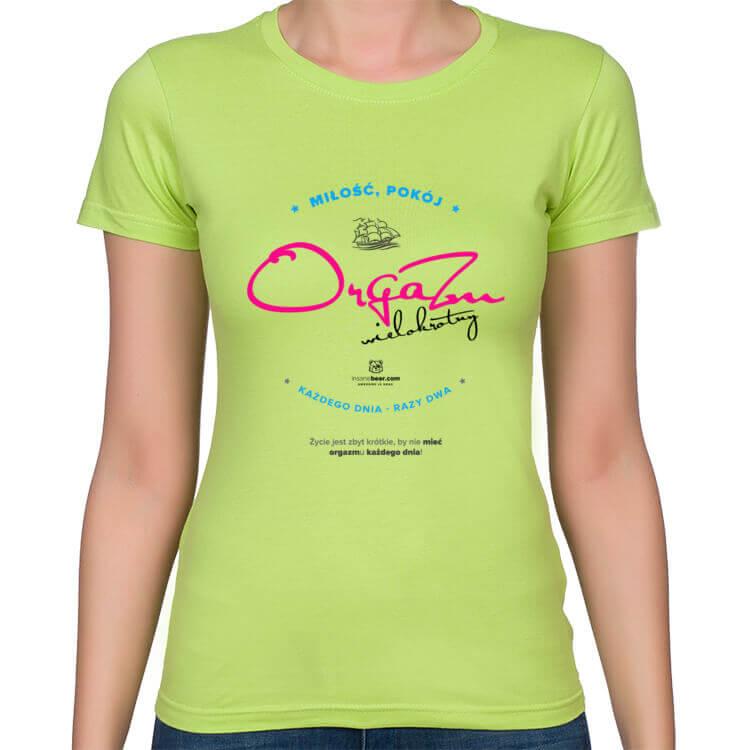 Koszulka Orgazm każdego dnia
