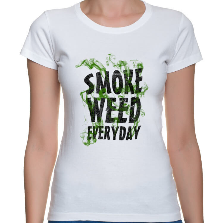 Koszulka Pal zioło każdego dnia damska