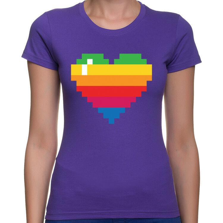 Koszulka Pixel Heart