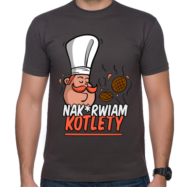 Koszulka Nakurwiam kotlety