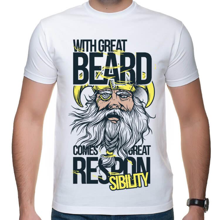 Koszulka Duża broda - duża odpowiedzialność
