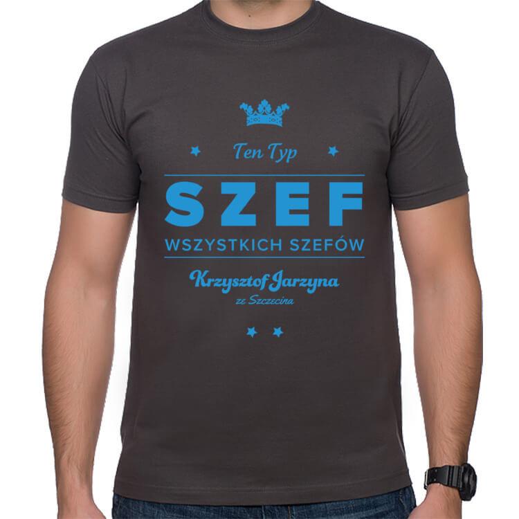 Koszulka Szef wszystkich szefów