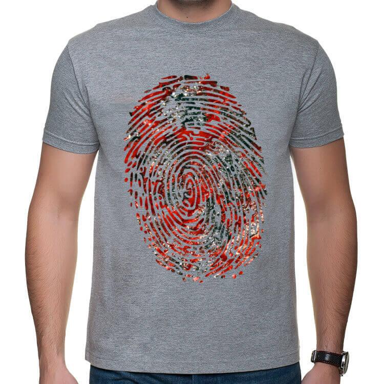 Koszulka Krwawy odcisk palca