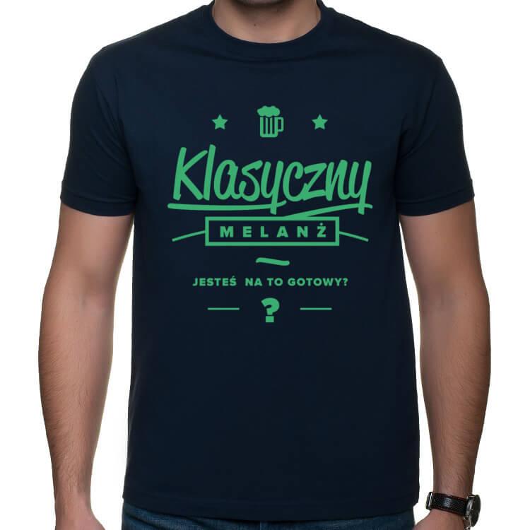 Koszulka Klasyczny melanż