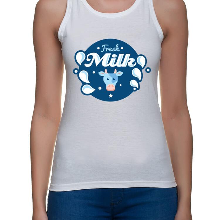 Koszulka dla mam karmiących piersią - Fresh milk