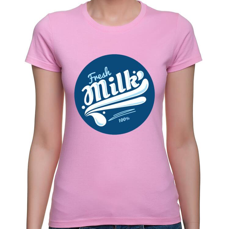 Koszulka dla karmiących piersią - Świeże mleko
