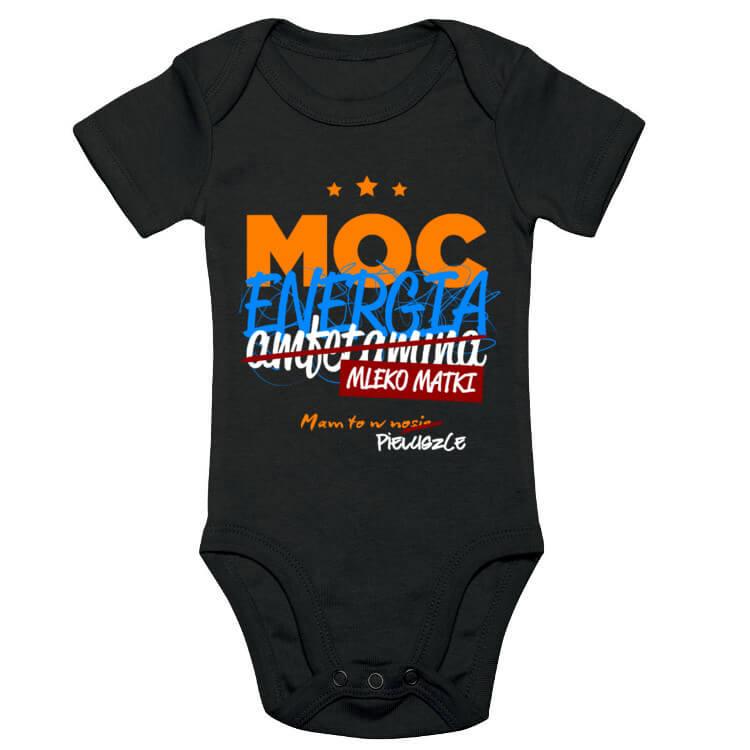 Body niemowlęce - Moc, energia, mleko matki