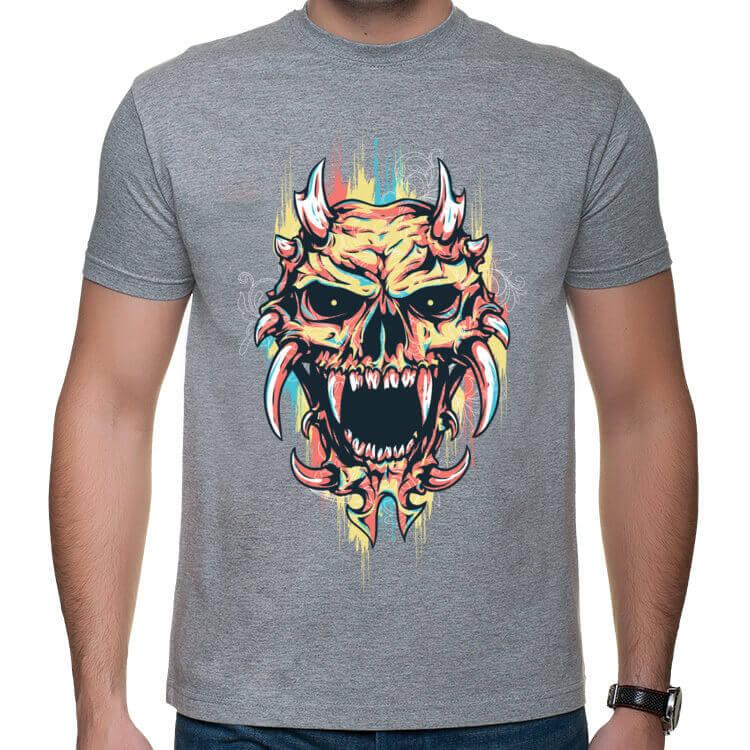 Koszulka ze złowrogą czaszką