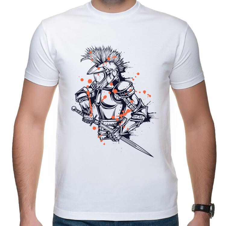 Koszulka dla zmotoryzowanych rycerzy