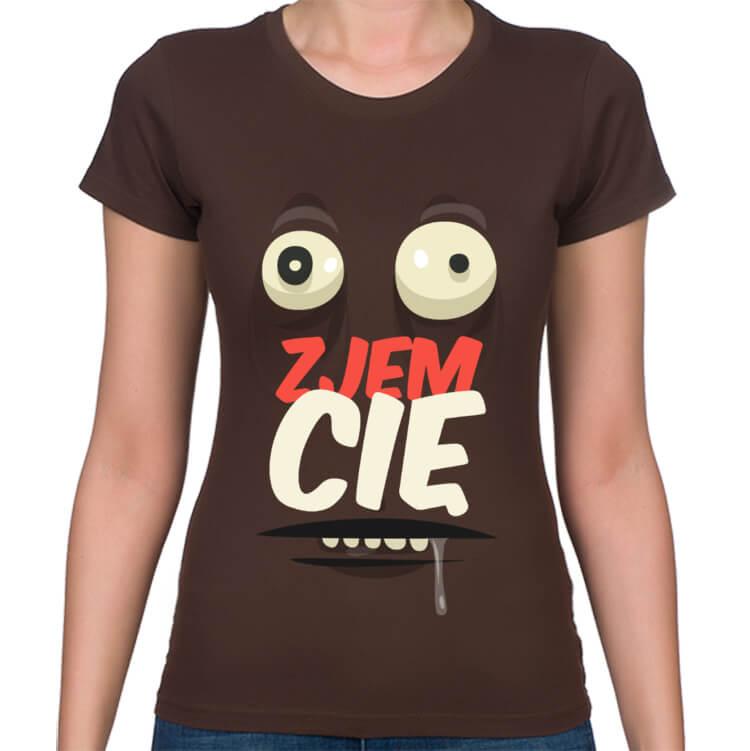 Koszulka Zjem Cię damska