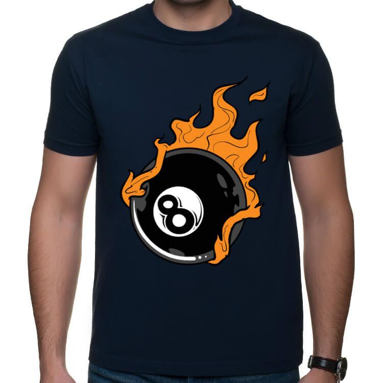 Koszulka Płonąca bila