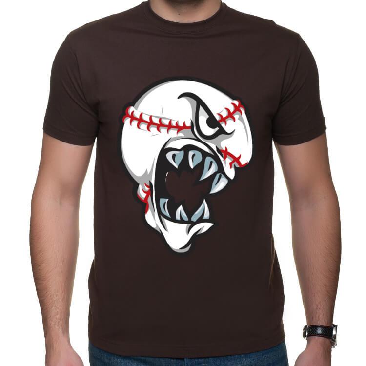 Koszulka z piłką baseballową