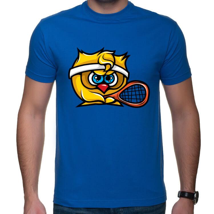 Koszulka świeżo upieczonego tenisisty